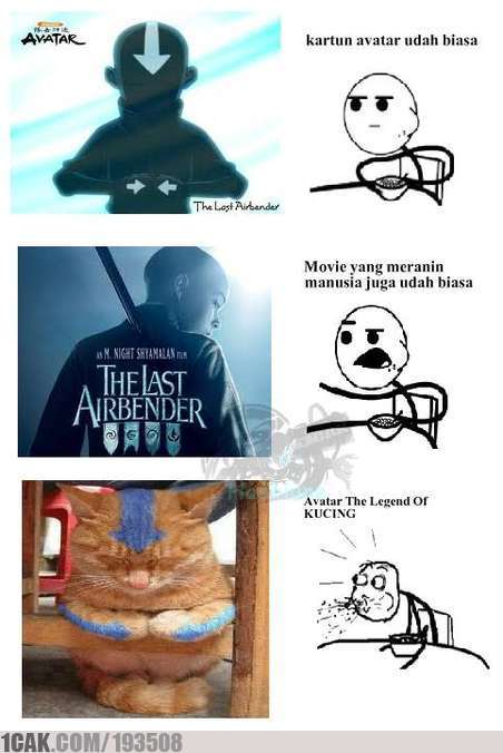 Avatar The Legend Of Kucing 1cak For Fun Only
